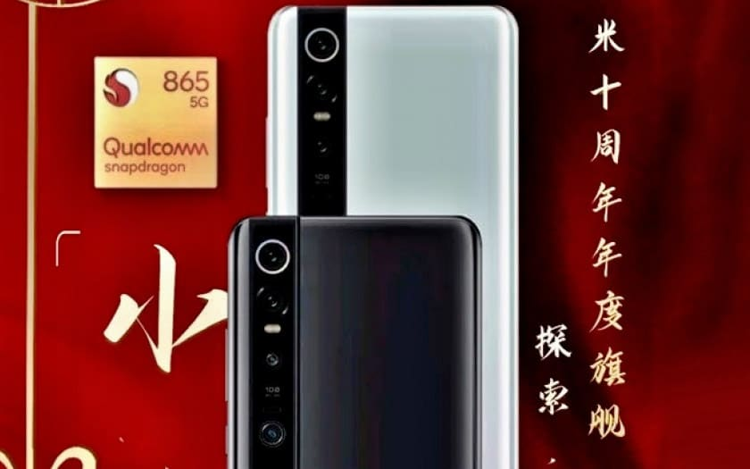 Xiaomi Mi 10: it would be the first smartphone with Snapdragon 865!
